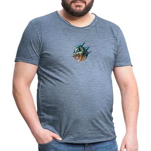 AZ GAMING WOLF - Men's Vintage T-Shirt
