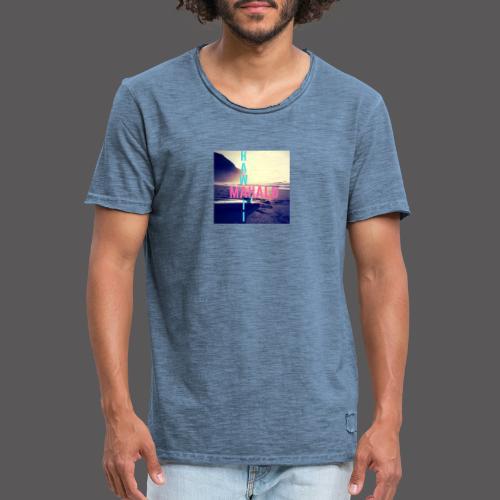 Hawaii Mahalo - Männer Vintage T-Shirt