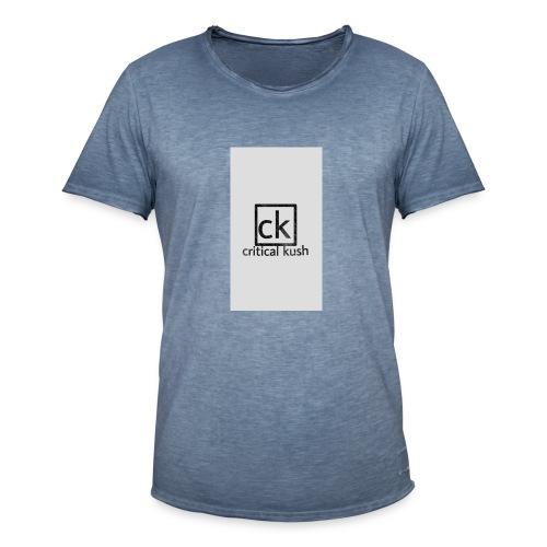 CK _critical kush - Camiseta vintage hombre
