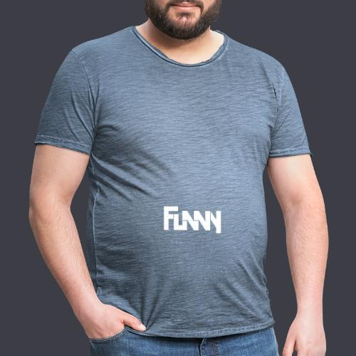 Funny - Maglietta vintage da uomo