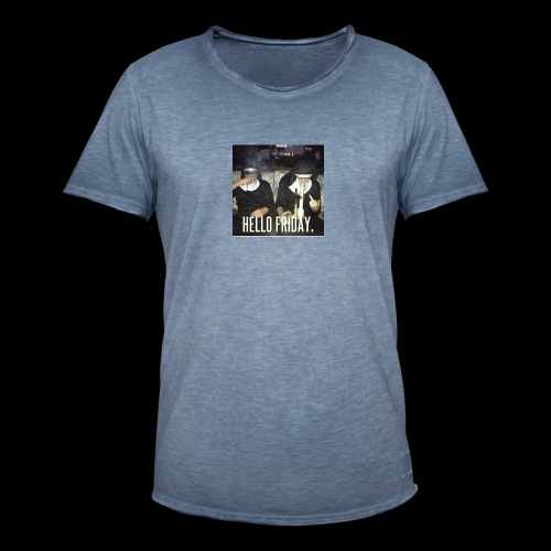 Hello Friday - Männer Vintage T-Shirt