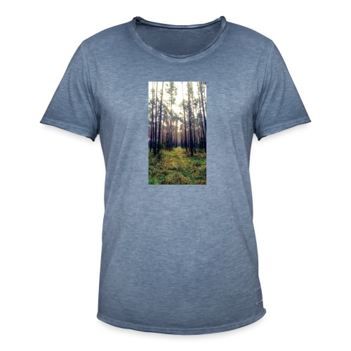 Las we mgle - Koszulka męska vintage