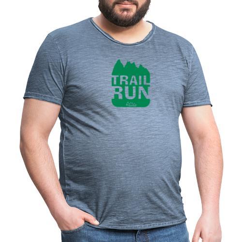 Trail Run - Männer Vintage T-Shirt