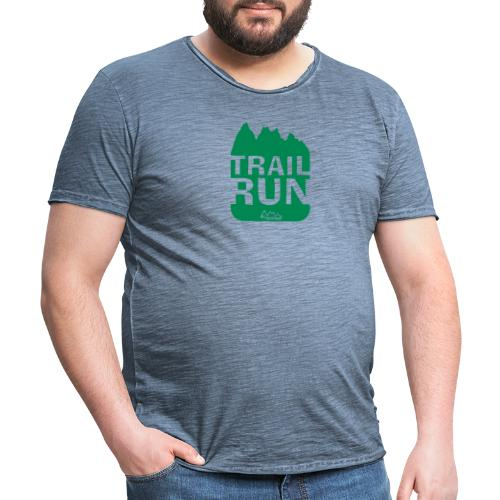 Trail Run - Männer Vintage T-Shirt