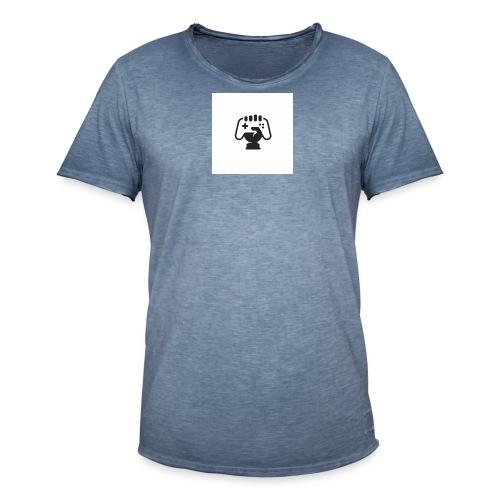 gamesloo - Camiseta vintage hombre