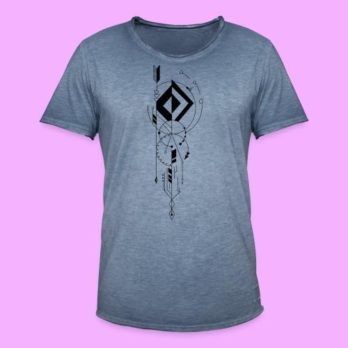 la vie - T-shirt vintage Homme