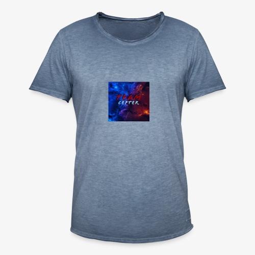 Team Cepter Logo - Vintage-T-skjorte for menn
