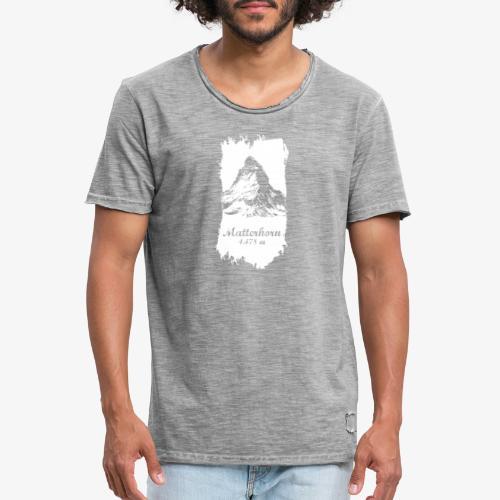 Matterhorn - Cervino - Men's Vintage T-Shirt