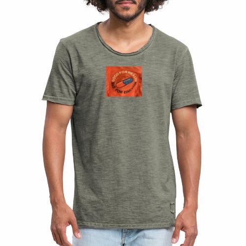 Bad pill/good pill - Vintage-T-shirt herr