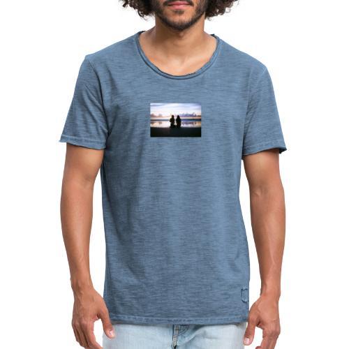Strand - Männer Vintage T-Shirt