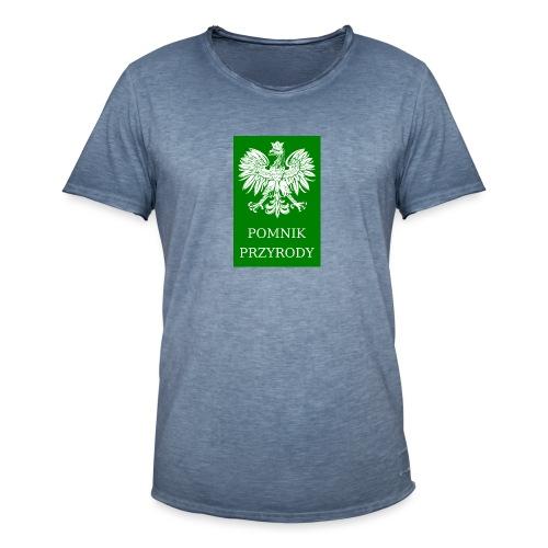 POL_Pomnik_Przyrody-svg - Koszulka męska vintage