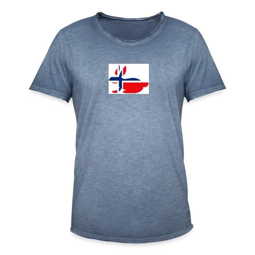 bunny_NY_LOGO_LI - Men's Vintage T-Shirt