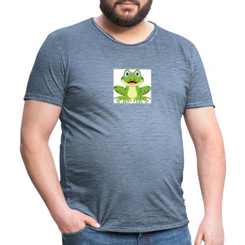 rana - Maglietta vintage da uomo