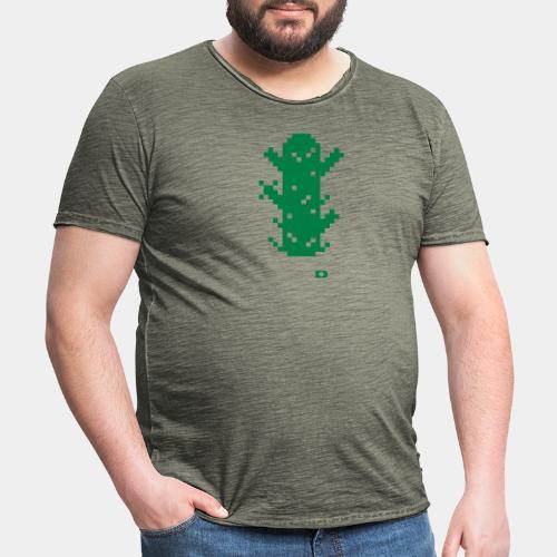 A-026 Kaktus - Männer Vintage T-Shirt