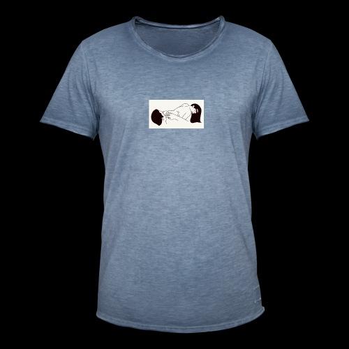 posicion - Camiseta vintage hombre