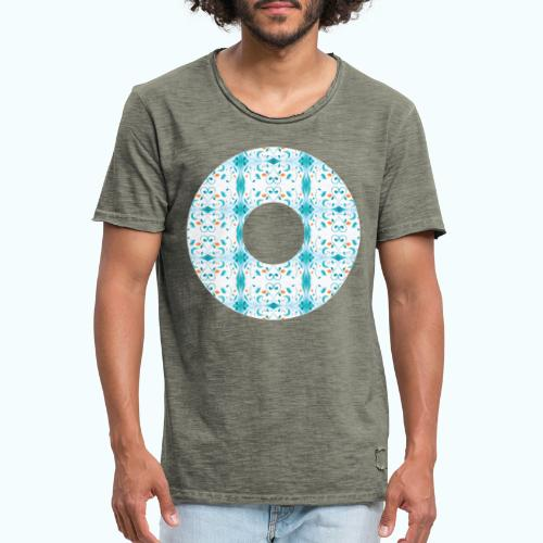 Hippie flowers donut - Men's Vintage T-Shirt