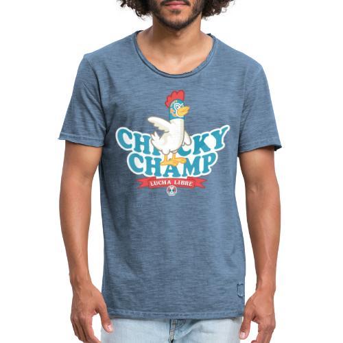 Chicky Champ - Maglietta vintage da uomo