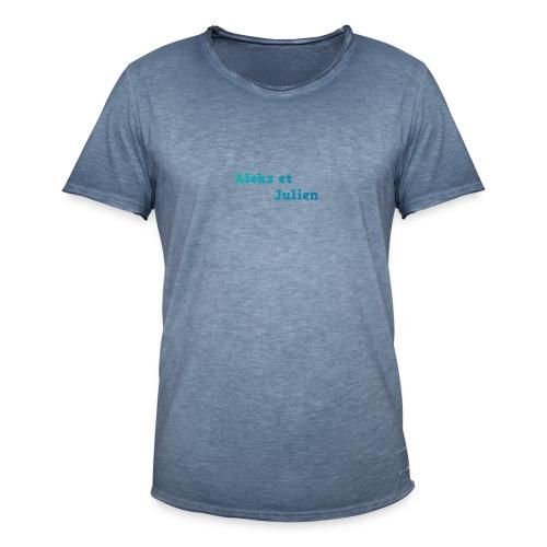 Notre logo - T-shirt vintage Homme