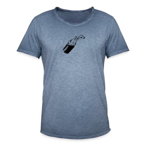 molotov Cocktail - Männer Vintage T-Shirt