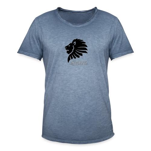 Gymlions T-Shirt - Männer Vintage T-Shirt
