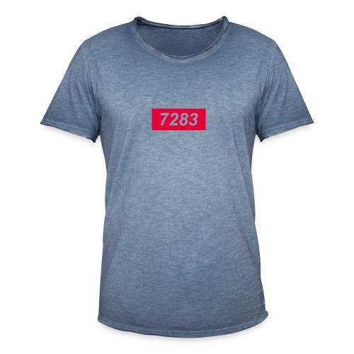 7283-Red - Men's Vintage T-Shirt