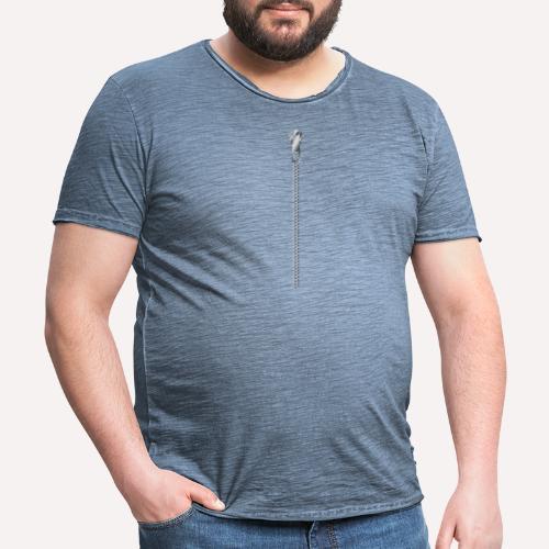 Zipper Funny Surprising T-shirt, Hoodie, Print - Men's Vintage T-Shirt