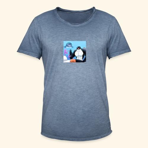 pingu - Miesten vintage t-paita