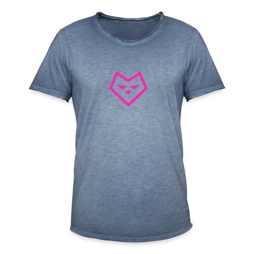 roze logo udc - Mannen Vintage T-shirt