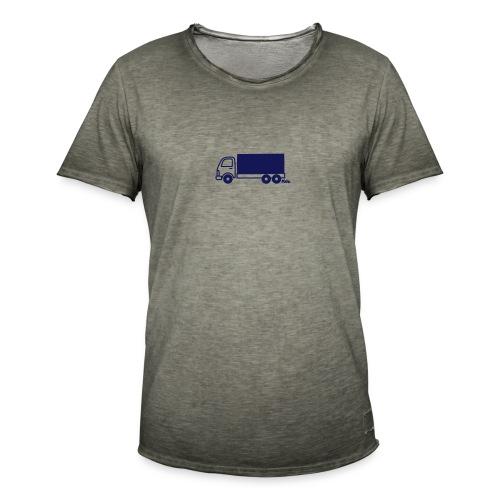 LKW lang - Männer Vintage T-Shirt