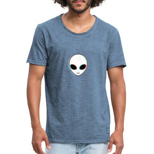 alien tumblr - Camiseta vintage hombre