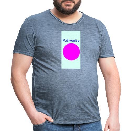 La bolsa de la putivuelta - Camiseta vintage hombre