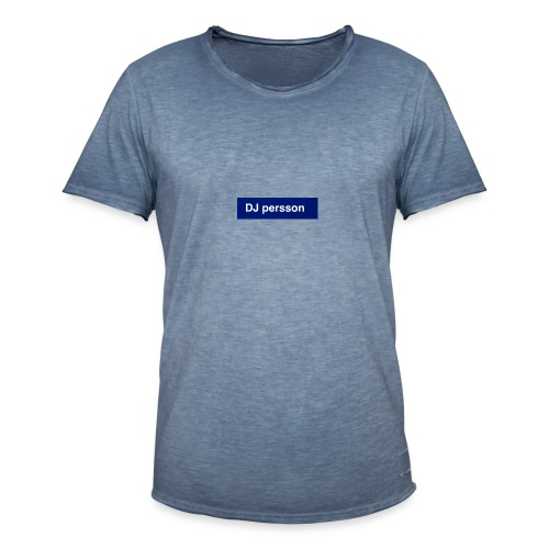 Dj persson - Vintage-T-shirt herr