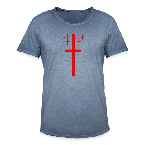 cross christus god jesus - Men's Vintage T-Shirt