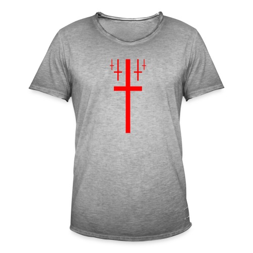 cross christus god jesus - Men's Vintage T-Shirt