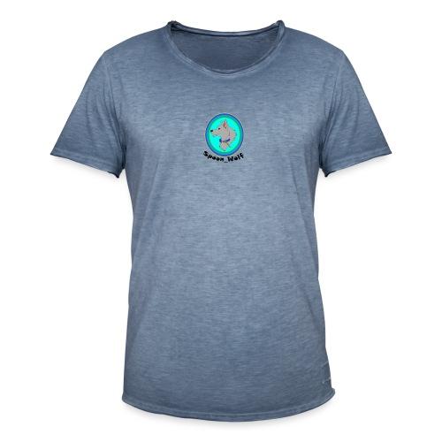 Spoon_Wolf_2-png - Men's Vintage T-Shirt