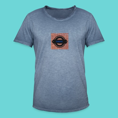 Brick t-shirt - Men's Vintage T-Shirt