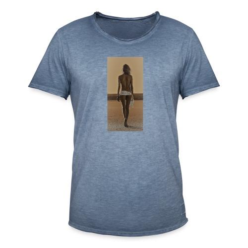 Hot Summer - Mannen Vintage T-shirt