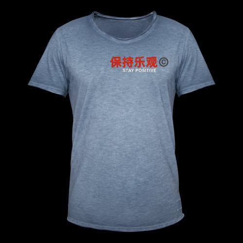 Stay Positive - Men's Vintage T-Shirt