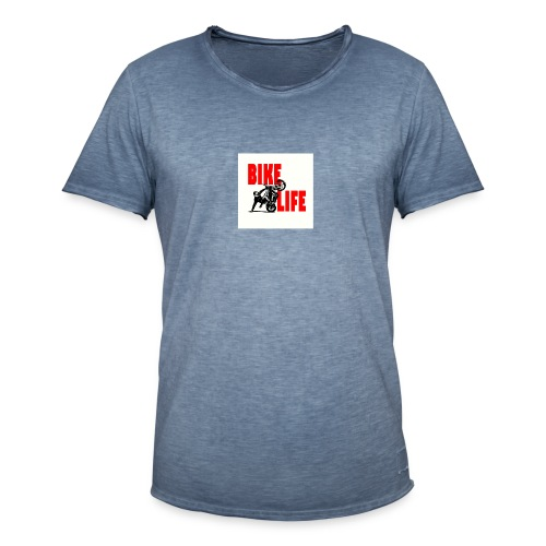 KEEP IT BIKELIFE - Men's Vintage T-Shirt