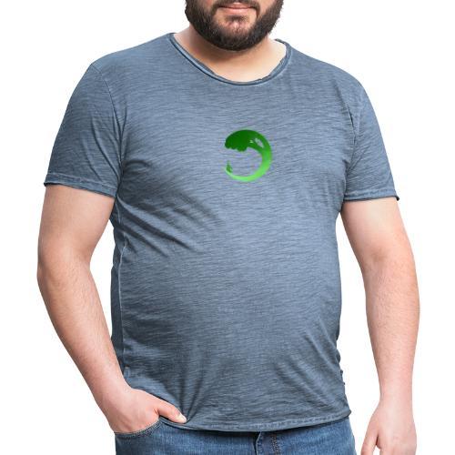 350 Aalborgs Logo - Herre vintage T-shirt