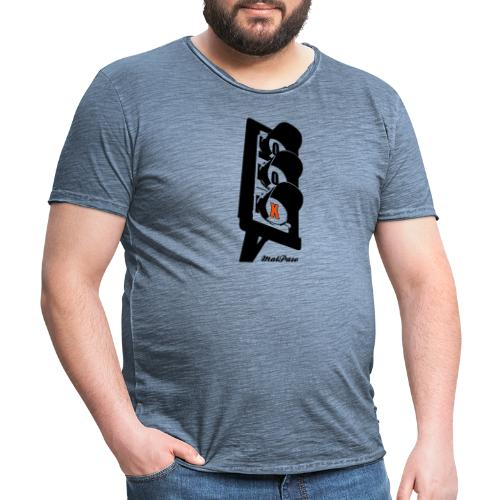 URBAN - Camiseta vintage hombre