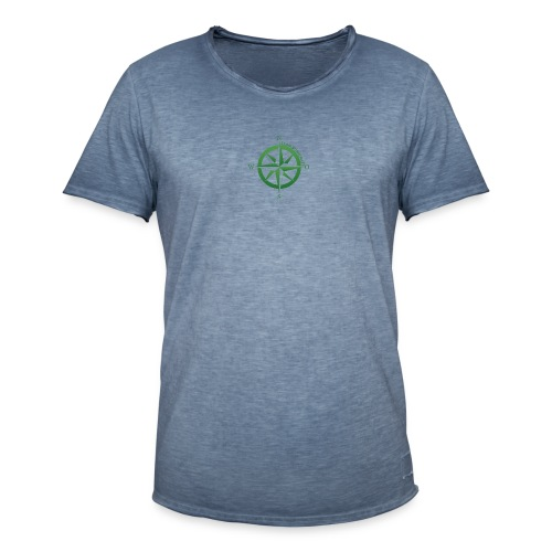 Team Bushcraft Kompass - Männer Vintage T-Shirt