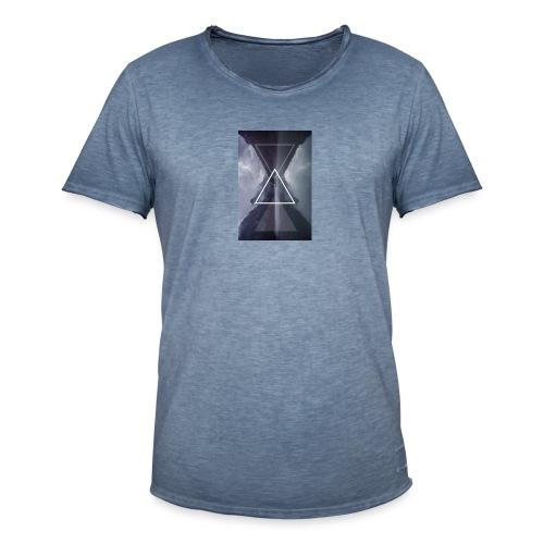 SHAPE - Koszulka męska vintage