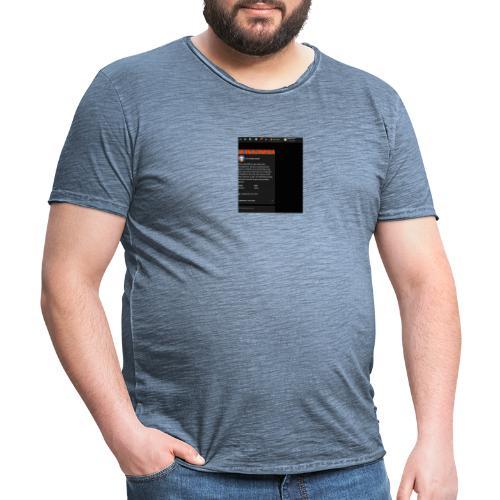 ppppppppppp - Männer Vintage T-Shirt