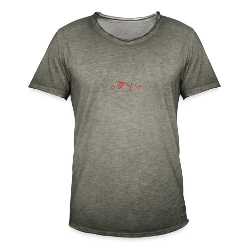 The stars above are watching (pocket) - Men's Vintage T-Shirt