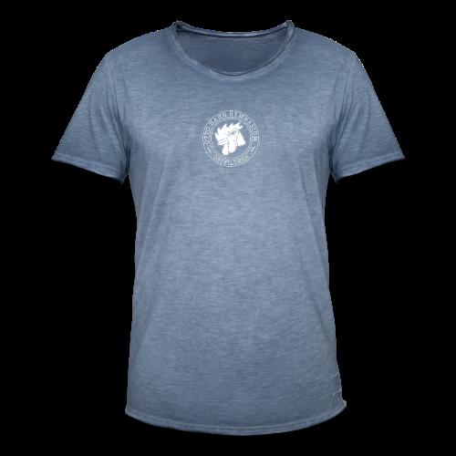 CIRCLE DESIGN - Männer Vintage T-Shirt