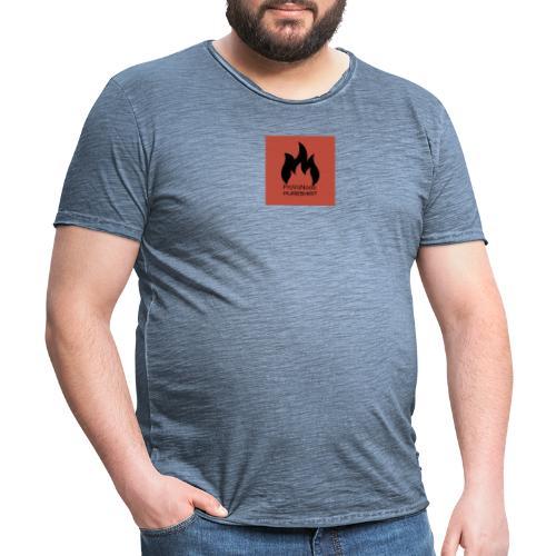 PureShirt ProVsNoob - Männer Vintage T-Shirt