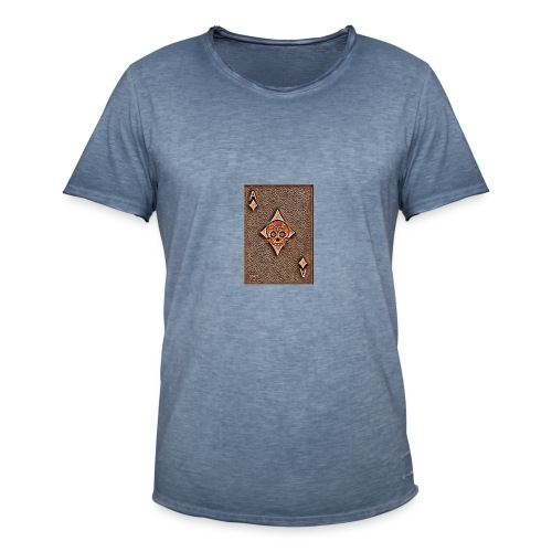 Ace of diamonds woody - The skulls players - T-shirt vintage Homme