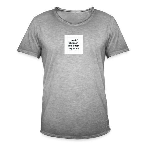 cap woes - Mannen Vintage T-shirt