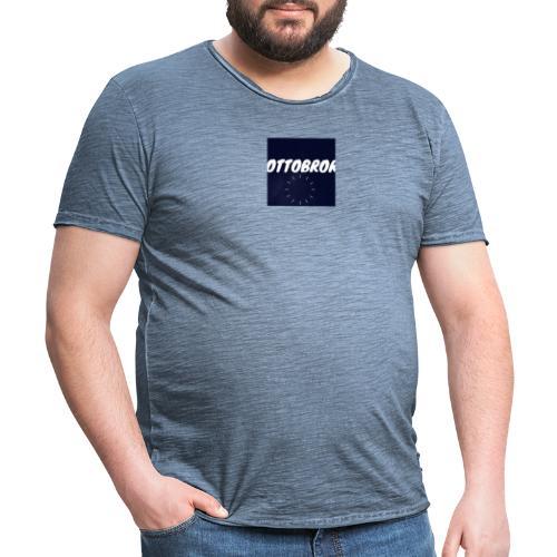 Ottobror - Vintage-T-shirt herr